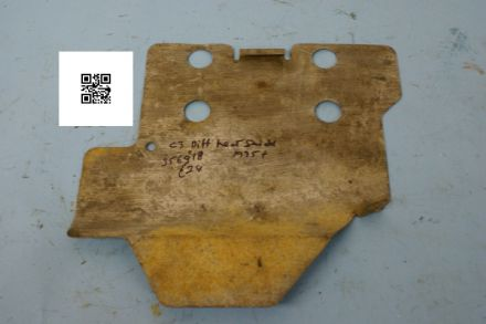 1975-1979 Corvette C3 Differential Heat Shield, 356916, Used Poor